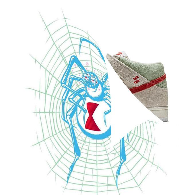 Nike SB Dunk Mid White Widow QS