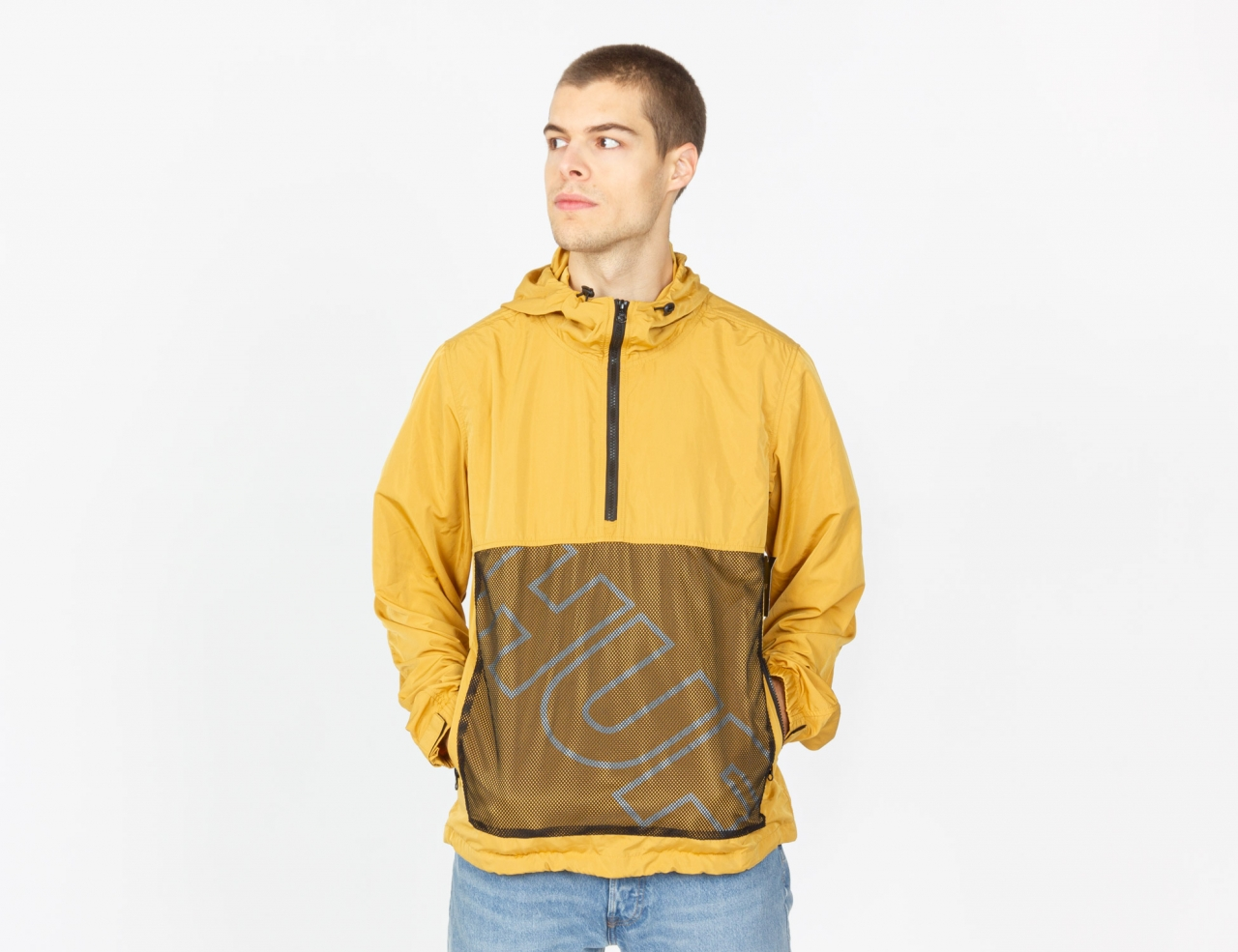 HUF Wire Frame Anorak Jacke - Honey Mustard