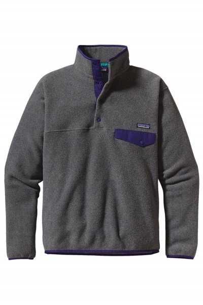 Patagonia Lightweight Synchilla Hoodie - Nickel
