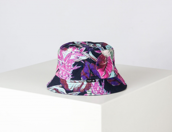 HUF Paraiso Bucket Hat - Navy Blazer