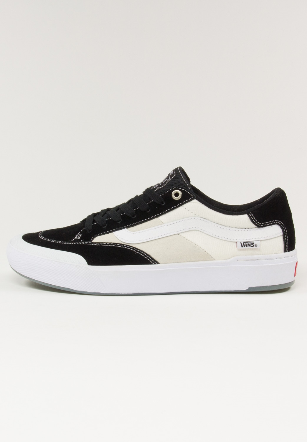 Vans Authentic Pro Shoe (Suede) Black Bonkers