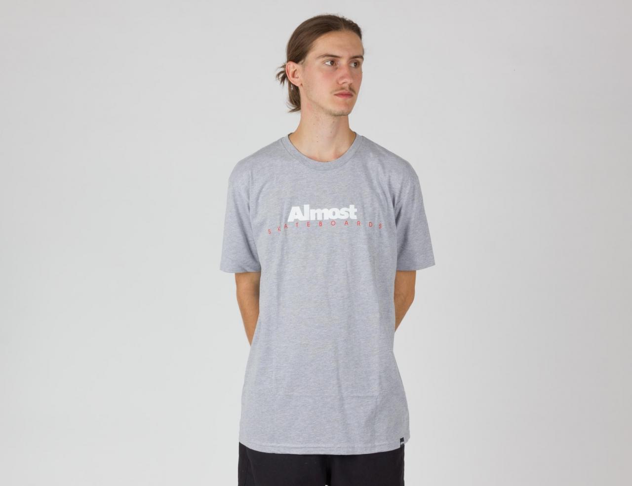 Almost Premium Classic Logo T-Shirt-heagre
