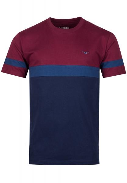 Cleptomanicx Dekker T-Shirt - Windsor Wine