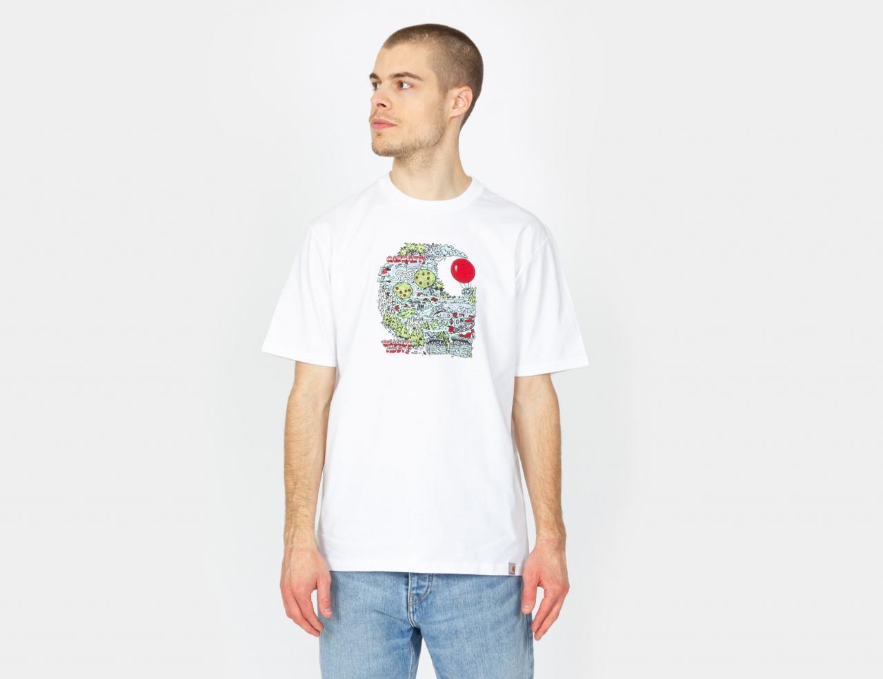 Carhartt WIP Treasure C T-Shirt - White