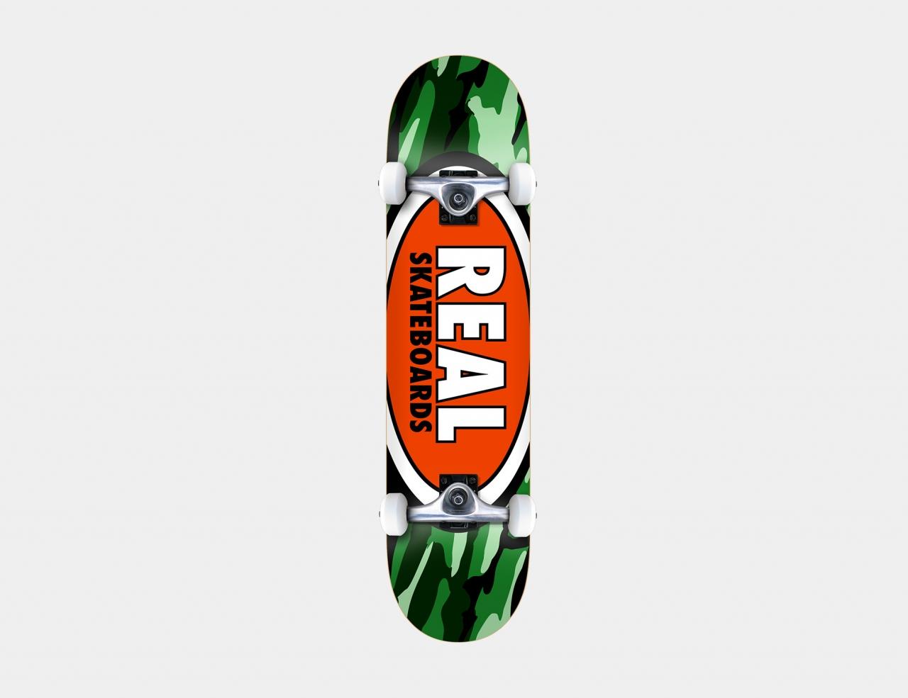 Real Team Oval Camo Medium 7.75 Komplettboard