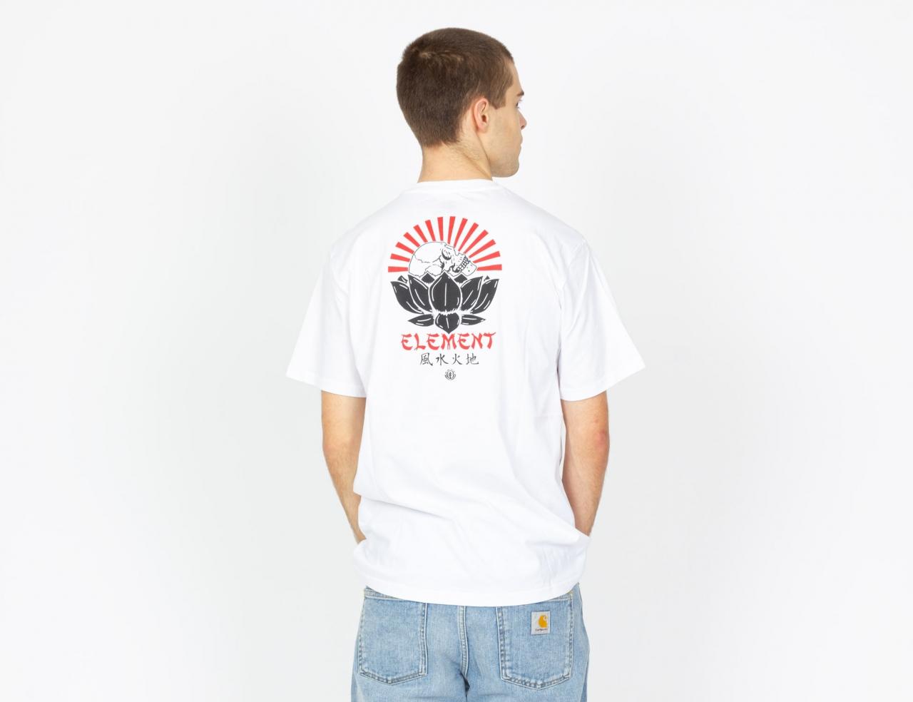 Element Megumi Shirt - Optic White