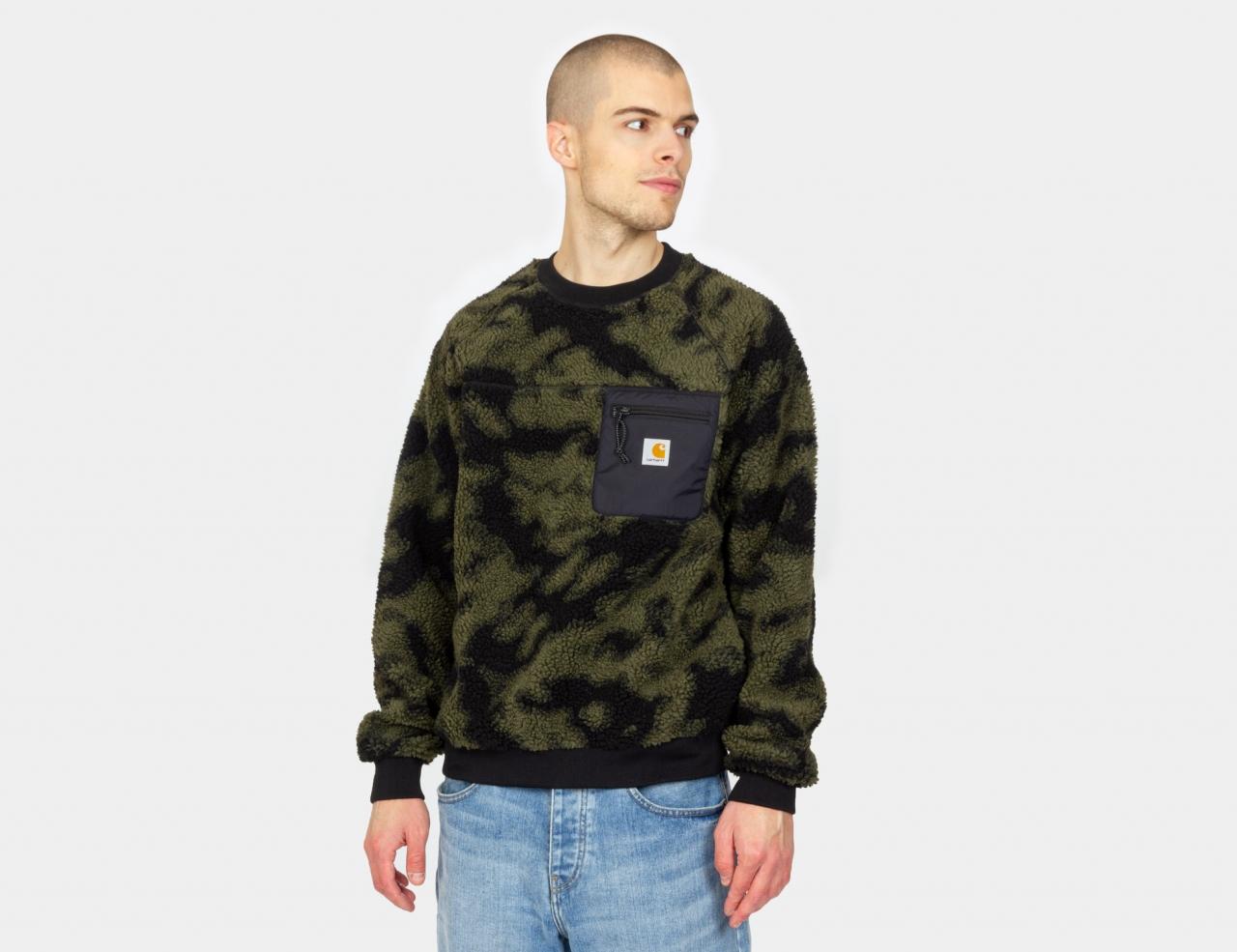 Carhartt WIP Prentis Sweatshirt - Camo Green