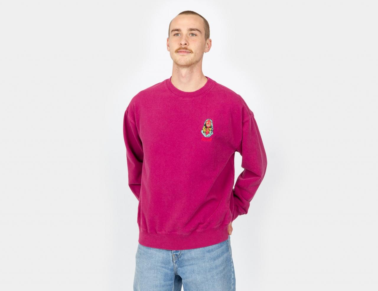 Volcom Black Sounds Sweatshirt - Raspberry Radiance