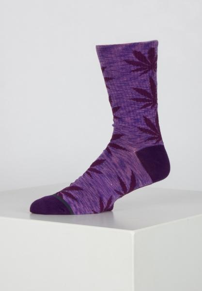 HUF Melange Plantlife Socken - Purple Velvet