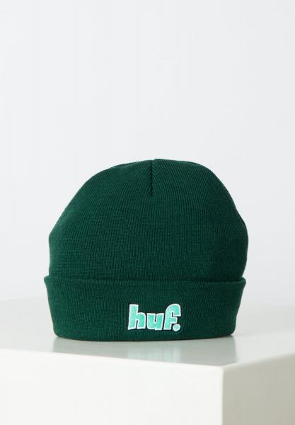HUF 1993 Logo Beanie - Botanical Green