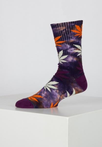 HUF Tie-Dye Plantlife Socken - Rust