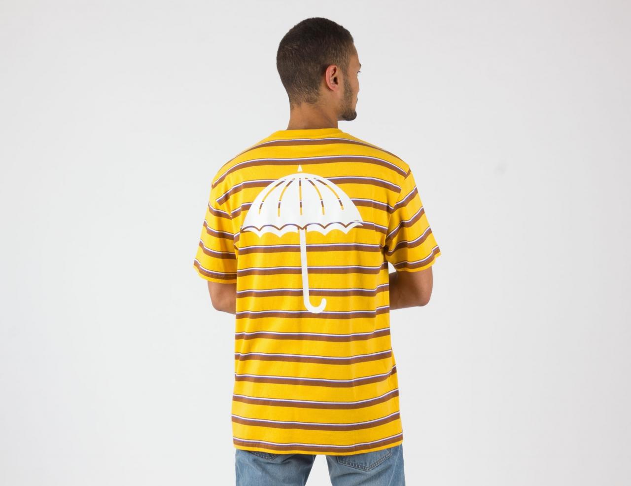 Helas Caps Stripy Umbrella Shirt - Yellow