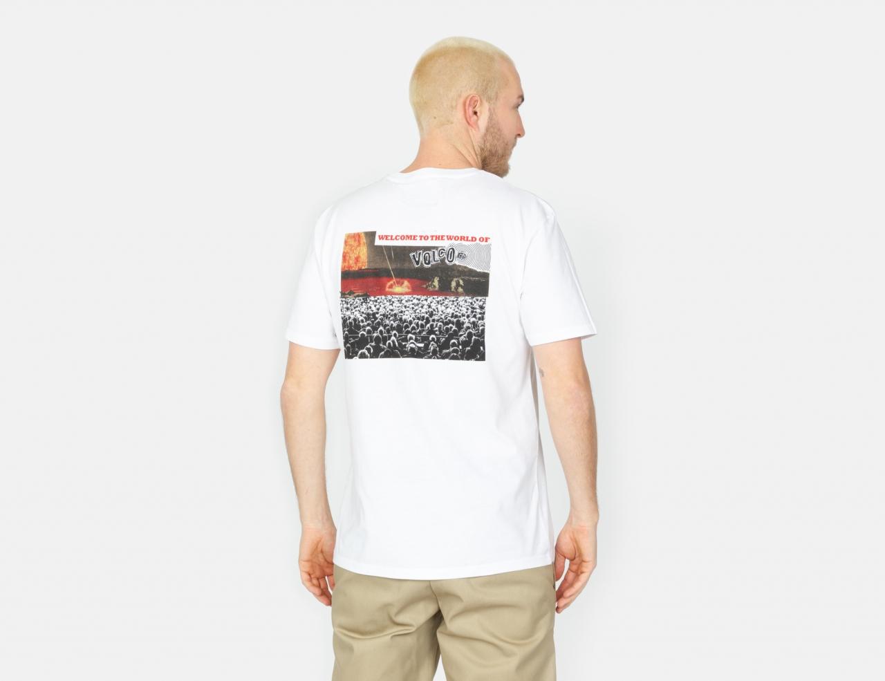 Volcom Worlds Collide BSC T-Shirt - White