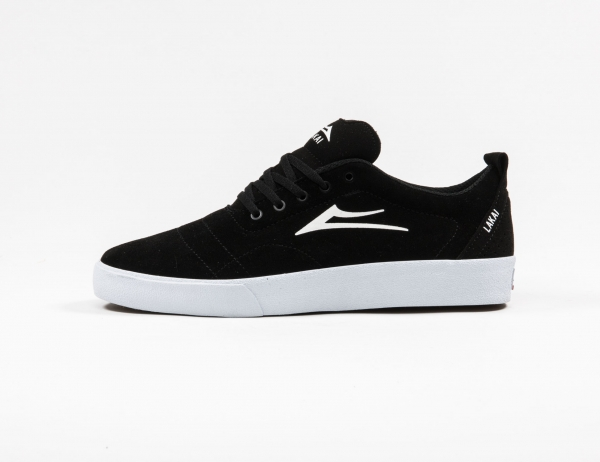 Lakai Bristol Schuh-black white suede