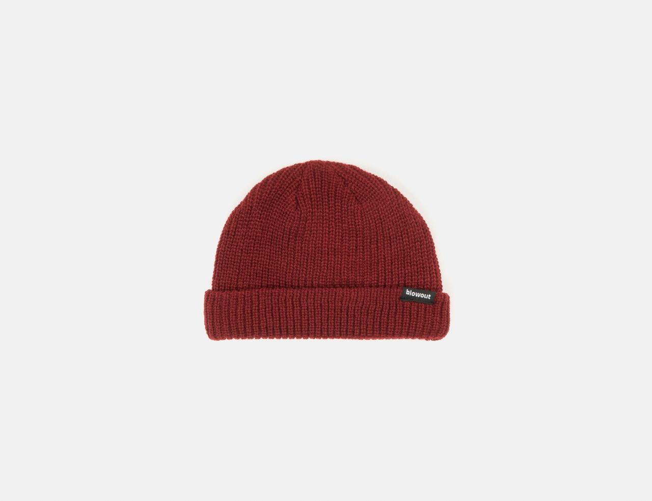 Blowout Fisherman Beanie - Maroon
