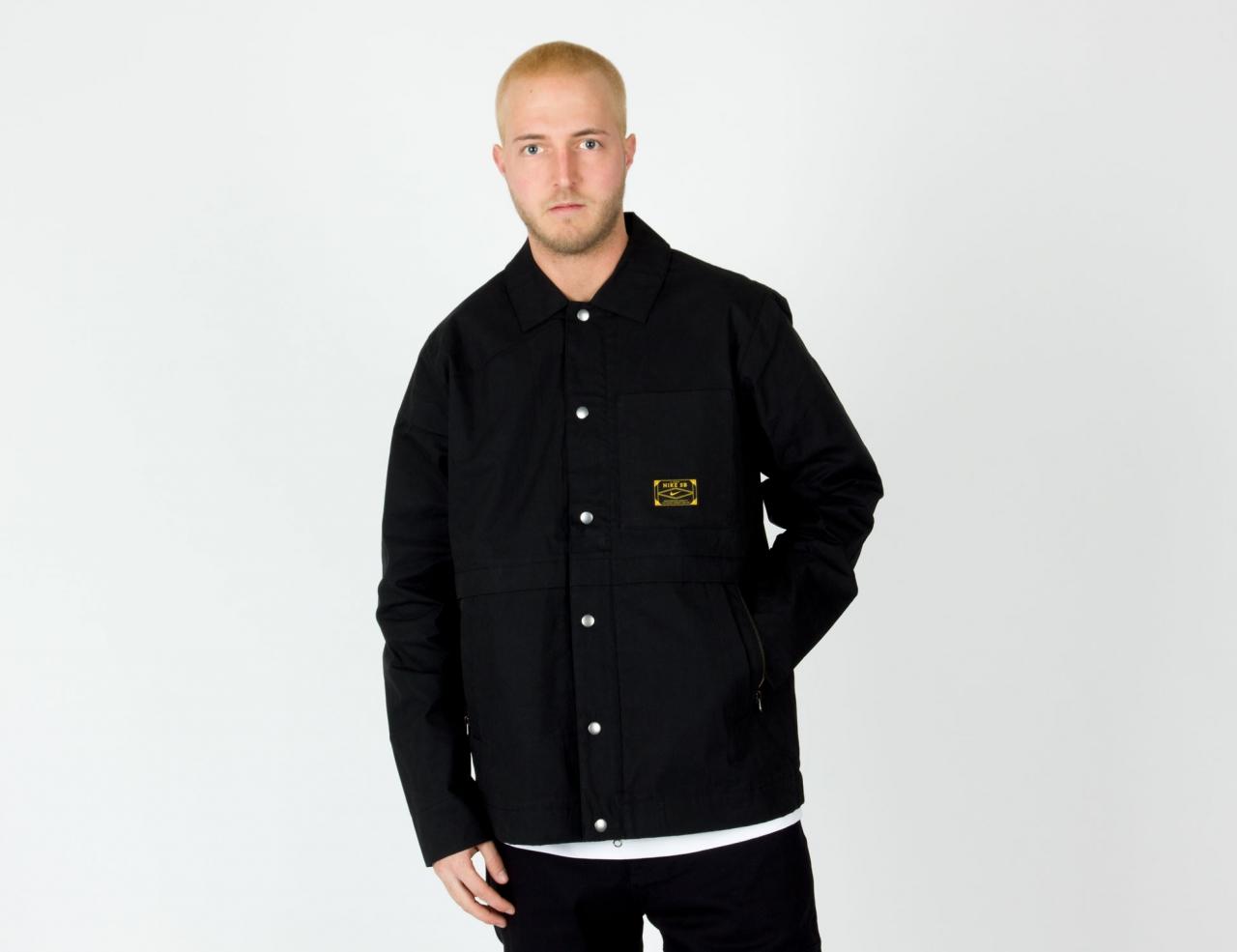 Nike SB Skate Jacket - Black/Night Maroon