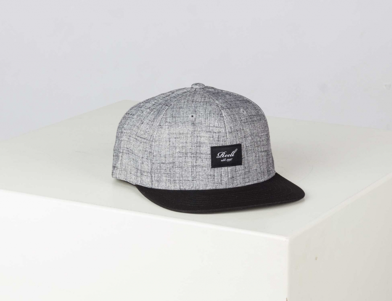 Reell Jeans Pitchout Cap - Heather Grey / Washed Black