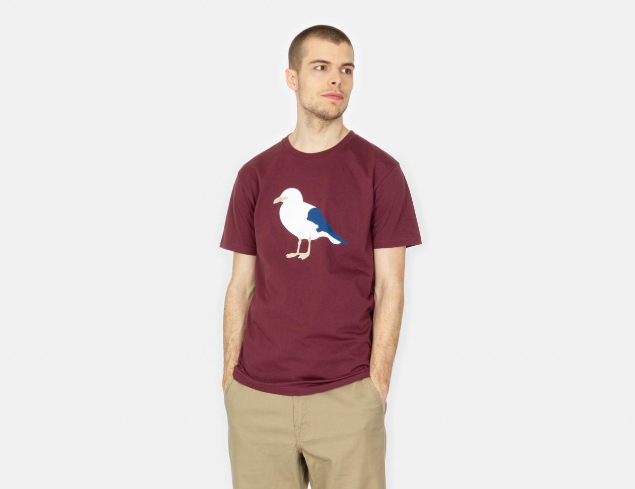 Cleptomanicx Gull T-Shirt - Port Royale