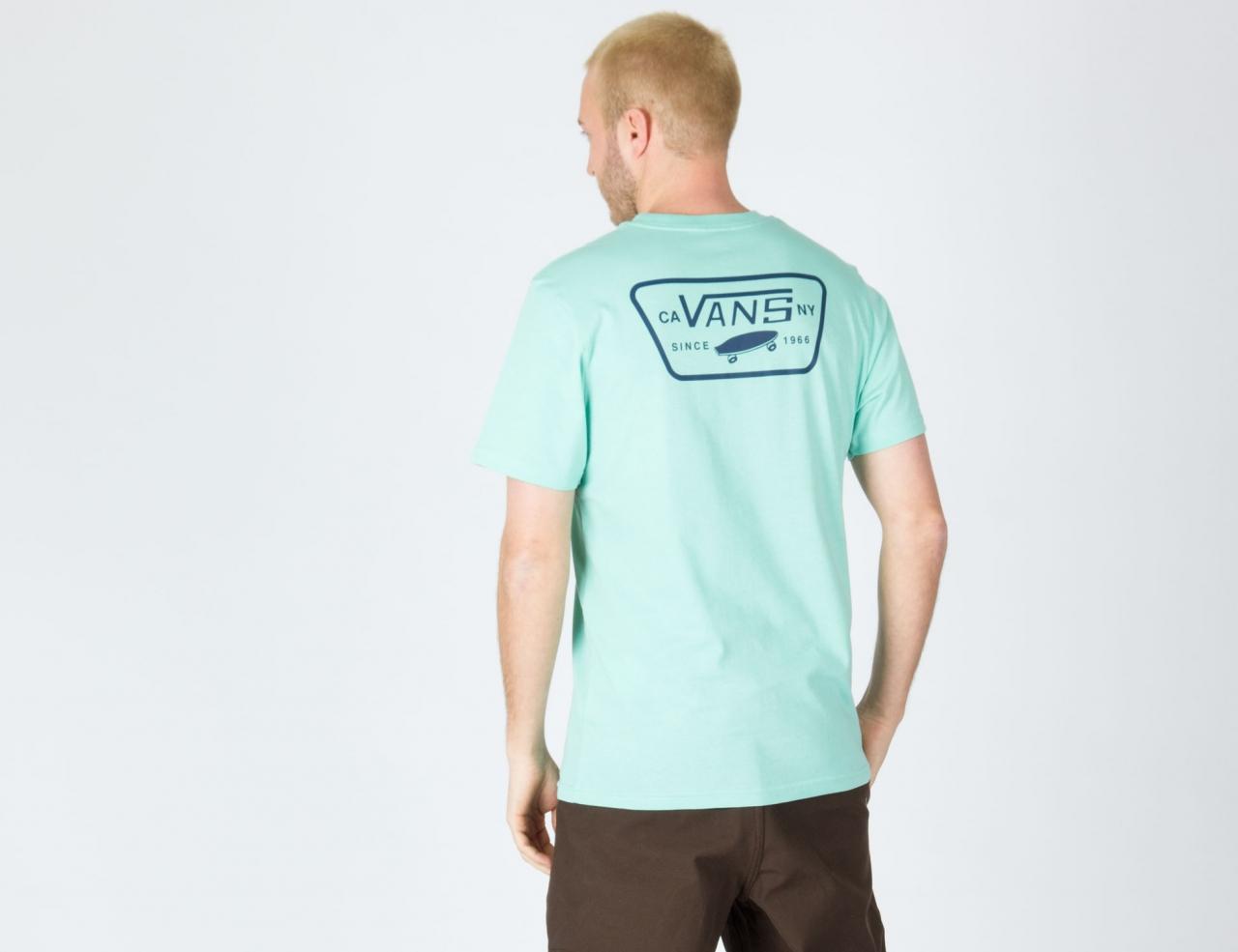VANS Full Patch Back Shirt - Dusty Jade Green
