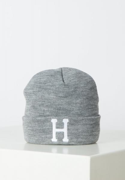 HUF Classic H Beanie - Grey Heather