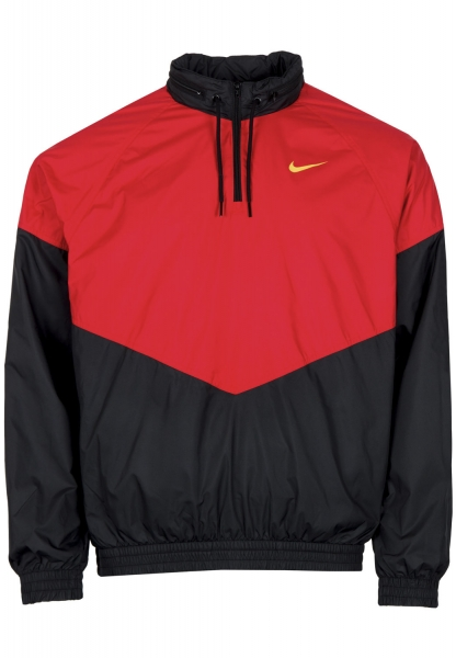 Nike SB Shield Jacke - Red/Black/Gold