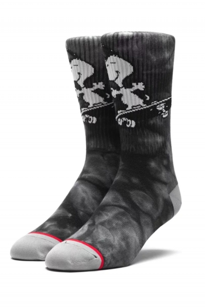 HUF x Peanuts Pigpen Crew Socke - Black