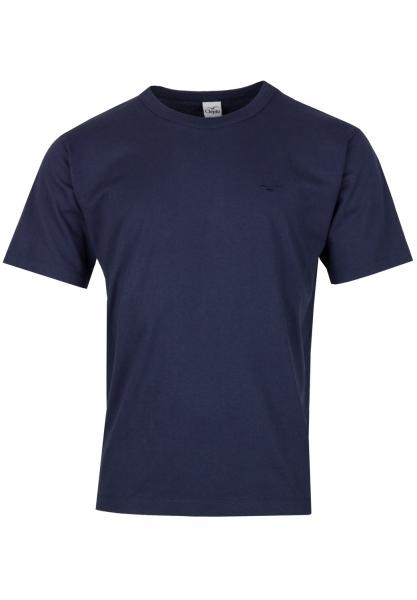 Cleptomanicx Ligull Heavy T-Shirt - Dark Navy