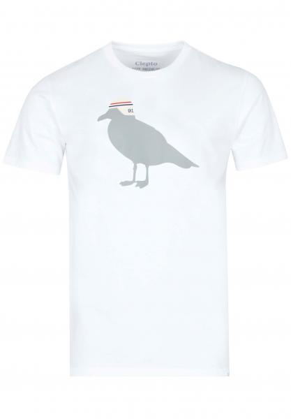 Cleptomanicx Race Gull T-Shirt