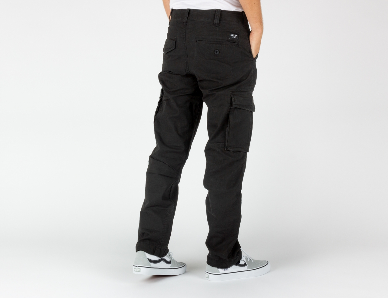 Reell Jeans Flex Cargo LC Pant - Black Canvas