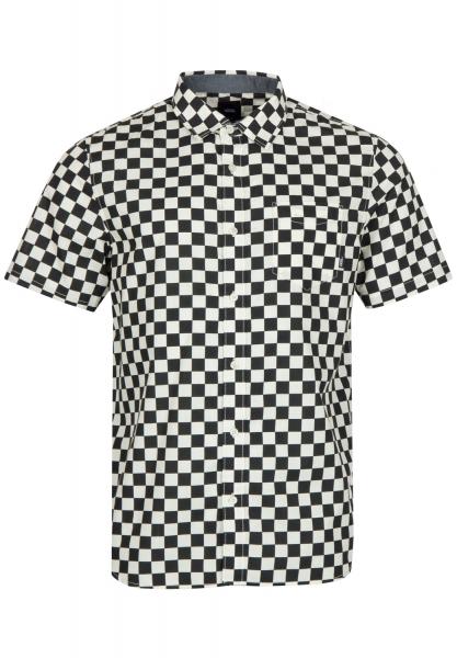 VANS Cypress Checker Hemd - Black/White