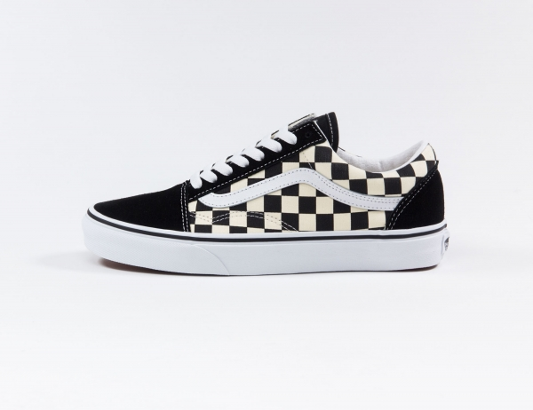 VANS Old Skool (Primary Check) - Black/White