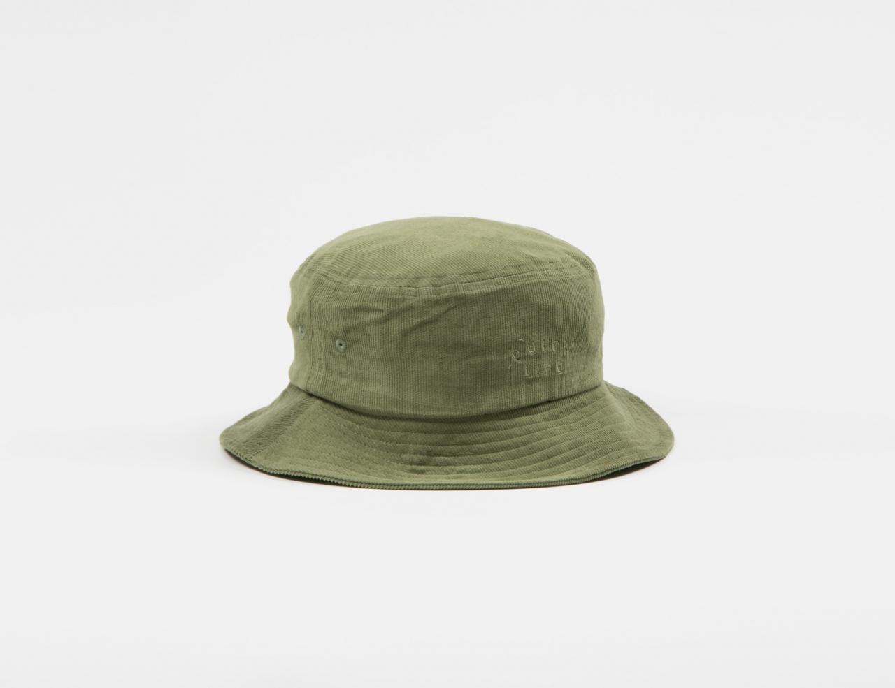 The Quiet Life Cord Bucket Hat - Olive