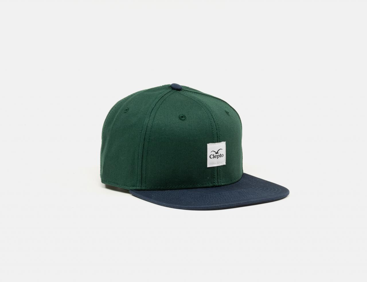 Cleptomanicx Badger 3 Cap - Bottle Green