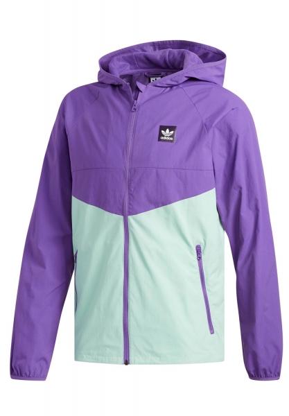 Adidas Dekum Packable Jacke - Purple