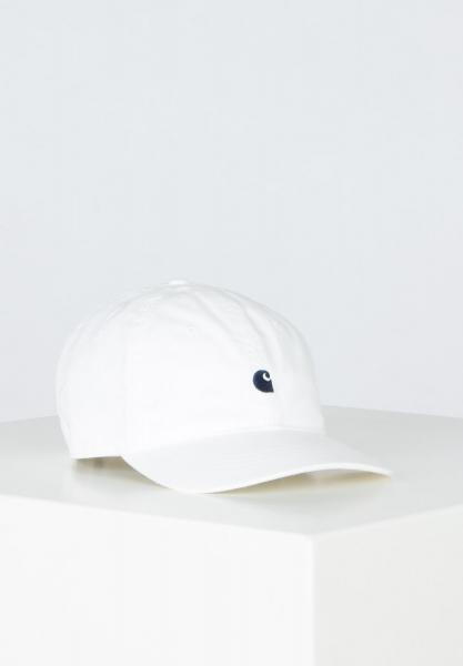 Carhartt WIP Madison Logo Cap - White