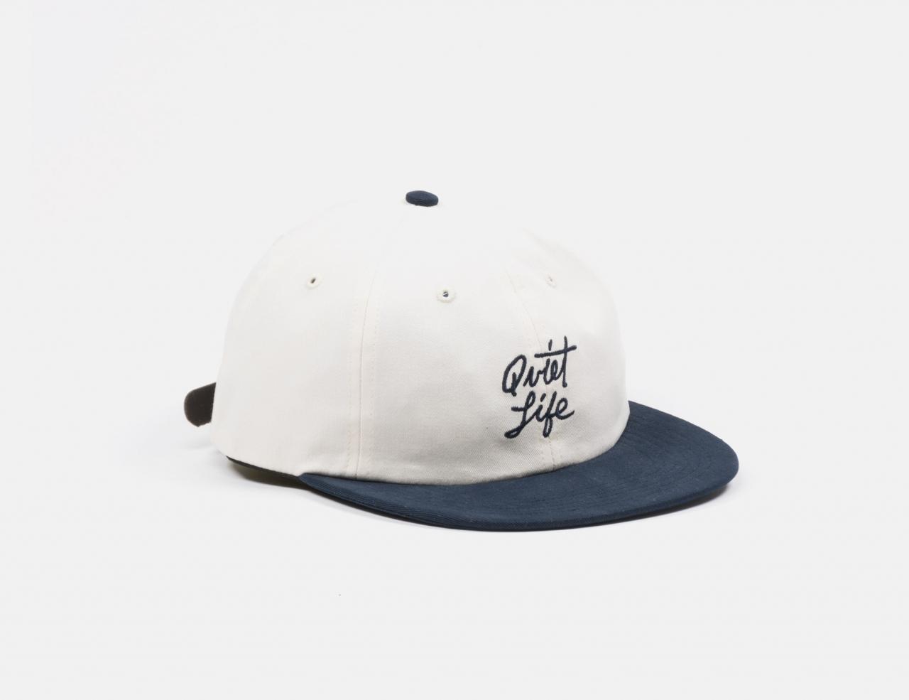 The Quiet Life Script Polo Hat Cap - Stone Black