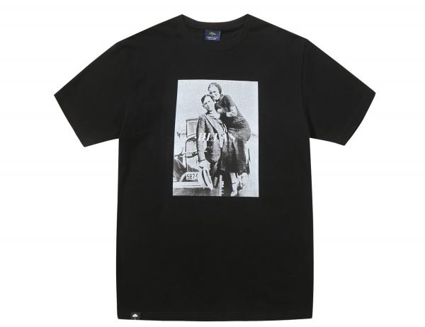 Helas Caps Bonnie & Clyde Shirt - Black