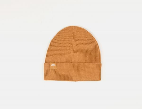 Helas Caps Woola Beanie - Brown