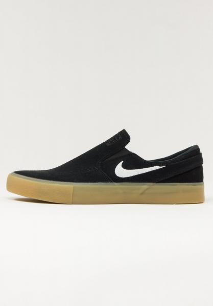 Nike SB Zoom Janoski Slip RM - Black/Gum