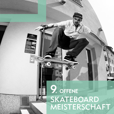 9. Offene Skateboardmeisterschaft