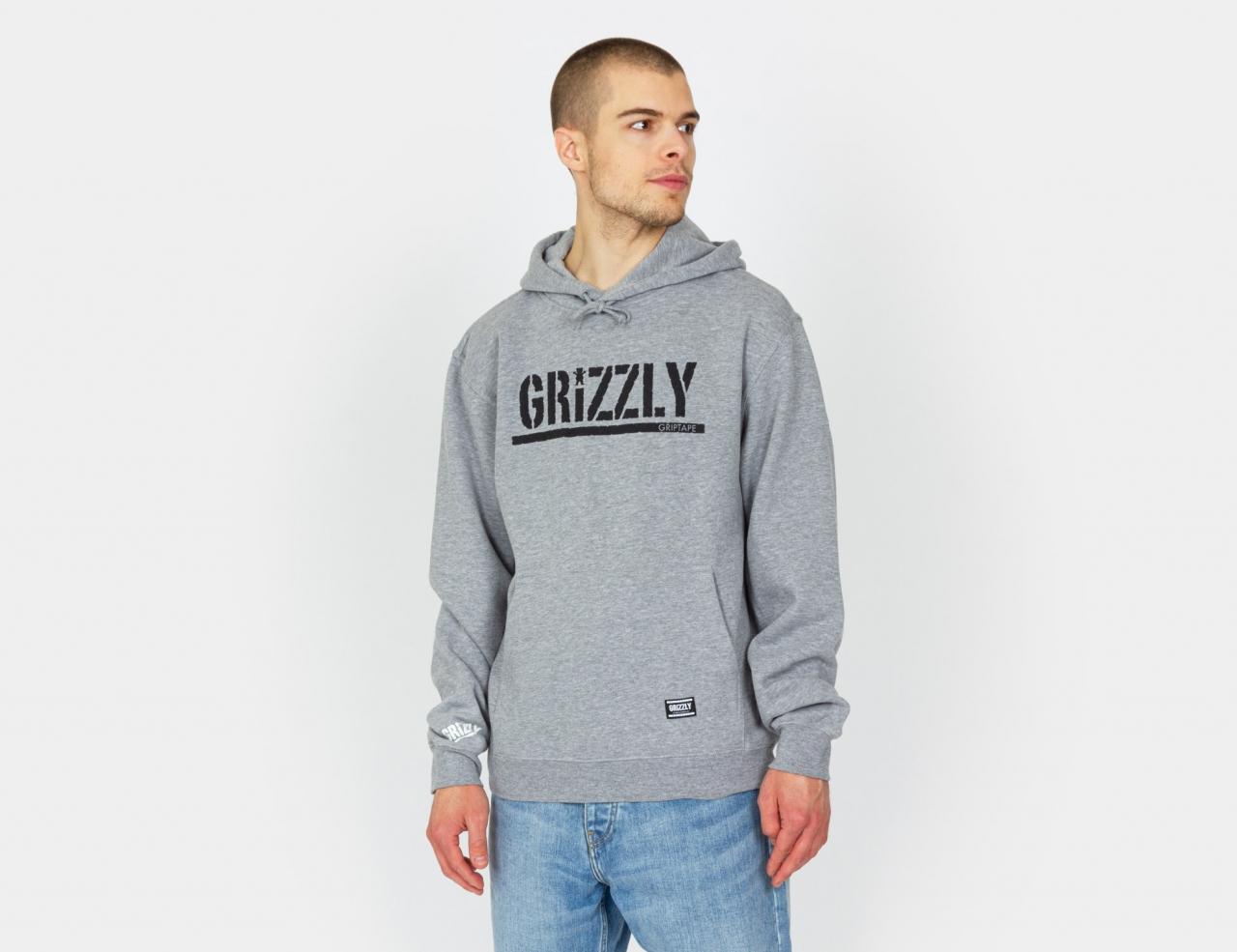 Grizzly OG Stamp - Grey / Black