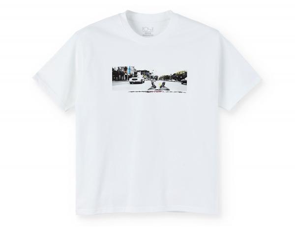 Polar Skate Co. Houston ST Shirt - White