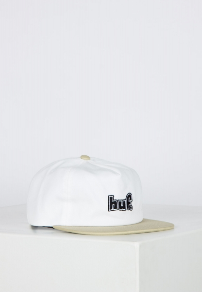 HUF 1993 Logo Strapback Cap - White