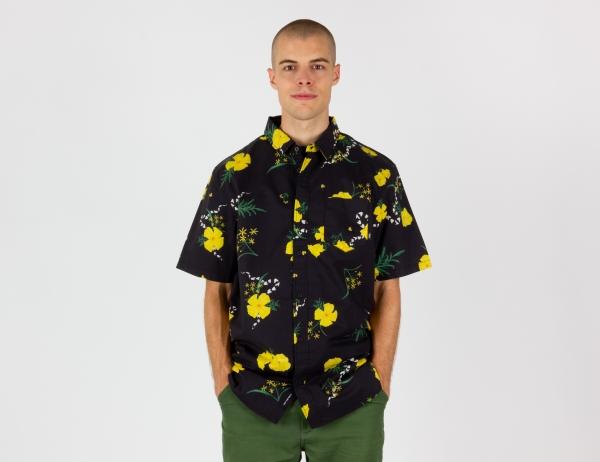 VANS Super Bloom Floral Hemd - Black / Super Bloom