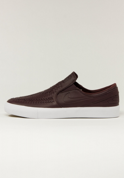 Nike SB Zoom Janoski Slip RM Crafted - Mahogany