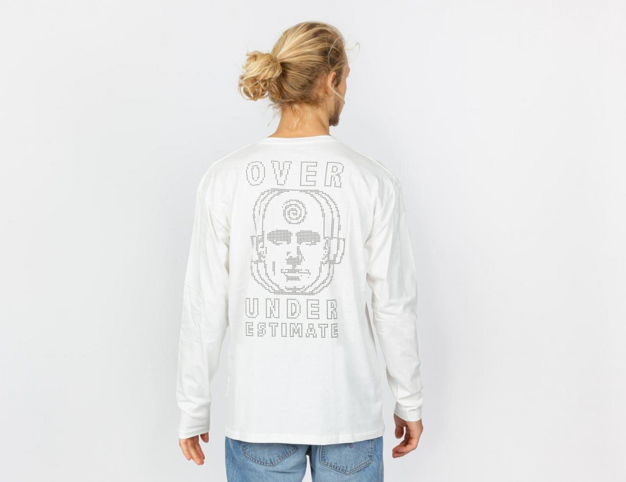 Madness Over Under Longsleeve - White