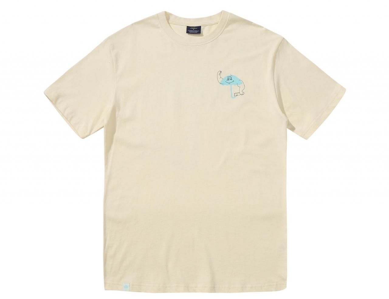Helas Caps Strong Shirt - Pastel Yellow