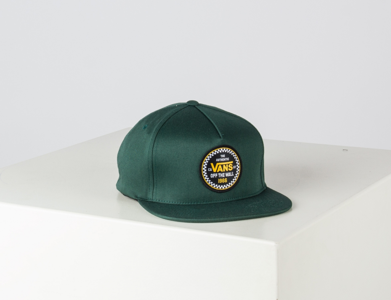 VANS Checker 66 110 Snapback Cap - Pine Needle