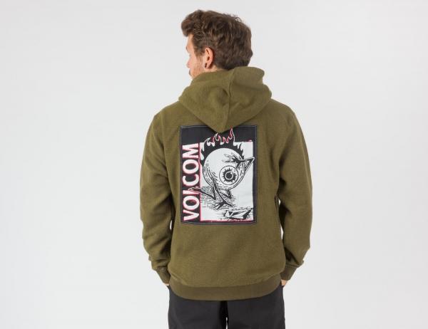 Volcom Midfright Hoodie - Military