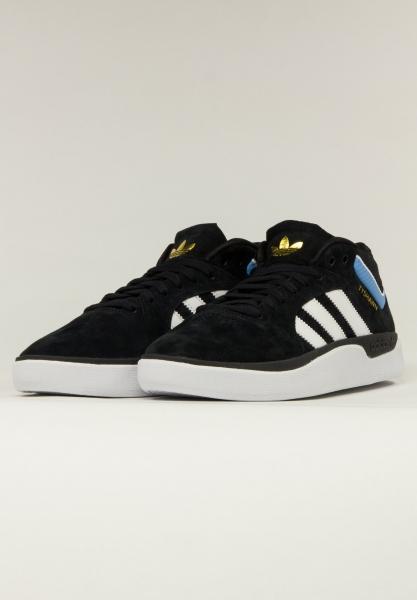 Adidas Adidas Tyshawn Schuh - Black/White/Blue